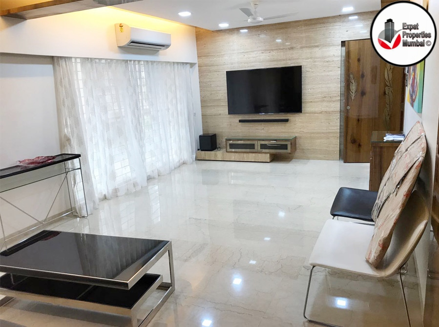 Large 1bhk Fully Loaded With Exquisite Interiors For Rent In Khar
