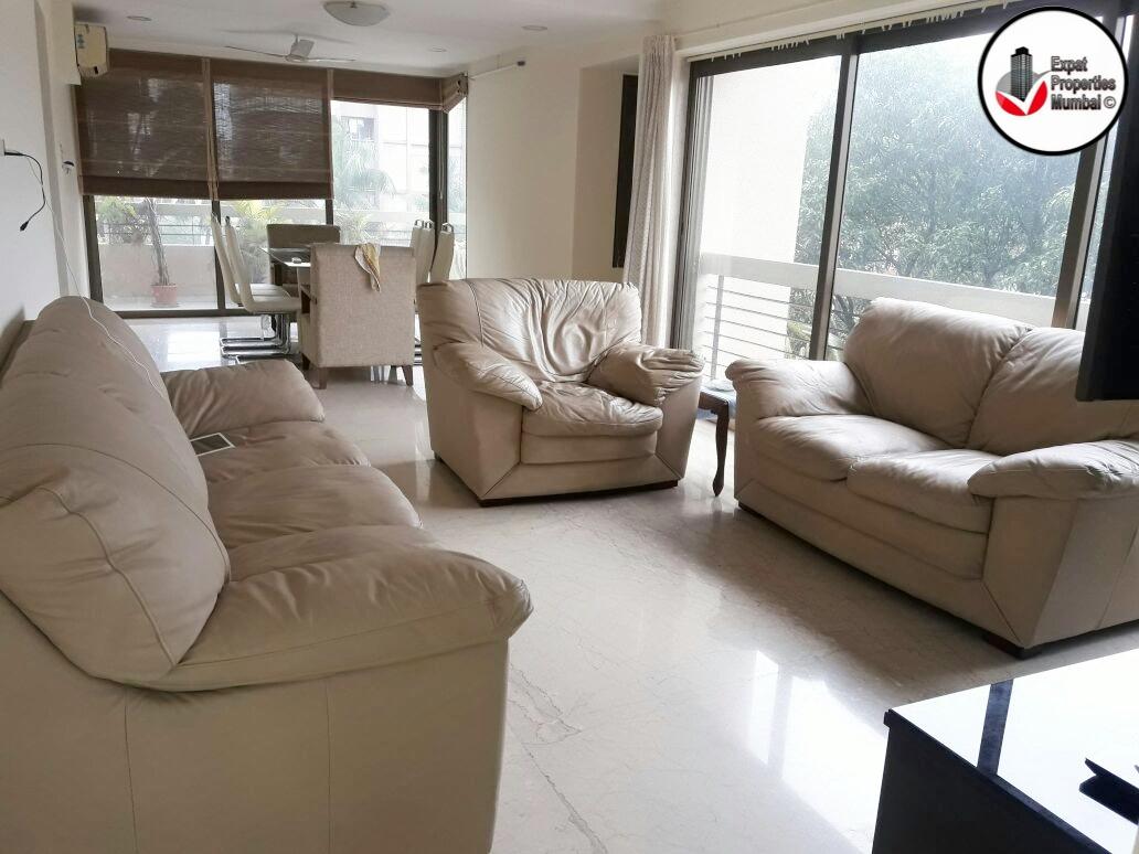 3 Bhk Large Semi Furnished Apartment For Rent In Santacruz