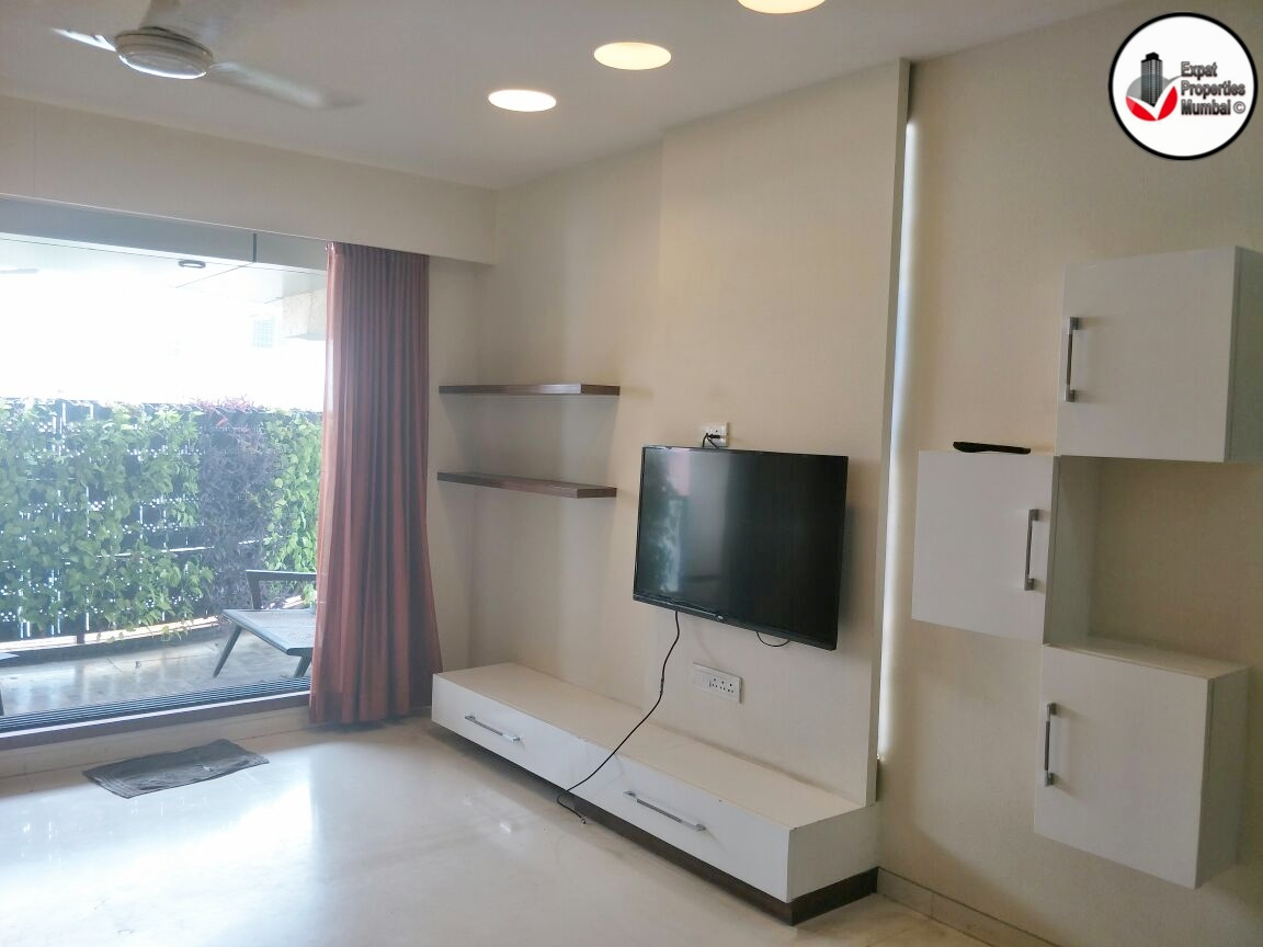 3 Bhk Large Furnished Apartment With Balcony For Rent In Khar